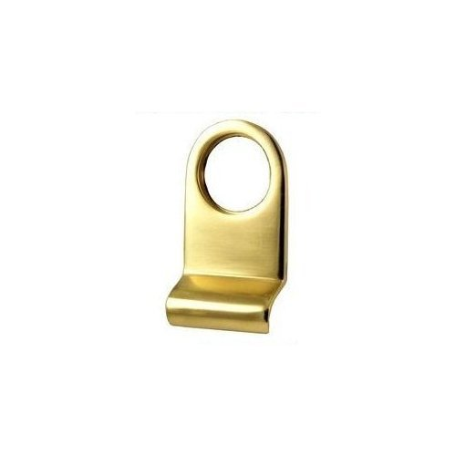 Solid Brass Yale Door Lock/Cylinder with Plate – Victorian Style Polished Brass Finish Euro Hardware Door Pull 1