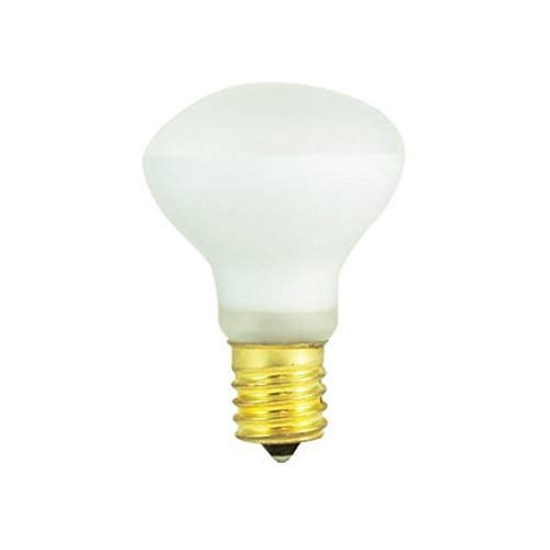 Bulbrite 25R14N 25-Watt Incandescent R14 Mini Reflector Light Bulb, Intermediate Base