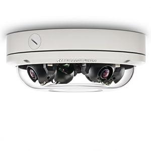 Arecont Vision AV20275DN-08 | 20MP D/N, 4 x 8mm MP Lens, RF, S-mount, Indoor/Outdoor, IP66, IK-10, PoE by Arecont Vision