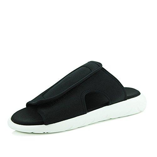 Slippers Summer Denim Material Feifei Casual Da 01 Uomo Scarpe p0gvW