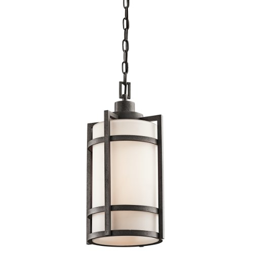 Kichler 49124AVI One Light Outdoor Pendant by Kichler Lighting