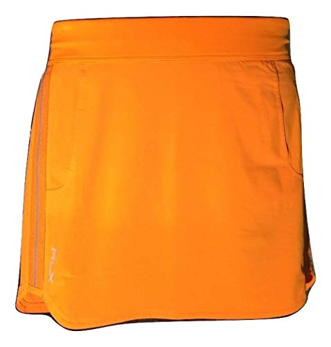 (Ralph Lauren RLX Women's Aim Golf Skort/Skirt (X-Small, Solar Orange))