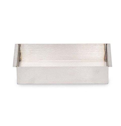 Talboys 949136 Stainless Steel Sand Bath, 5.8'' Length x 11.3'' Width x 2.5'' Height, For 6 Block Dry Block Heater
