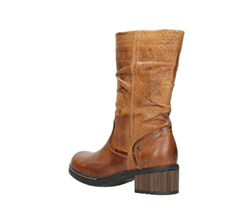 Edmonton Leather Wolky Boots Cognac Comfort 39430 FwEEYqgH
