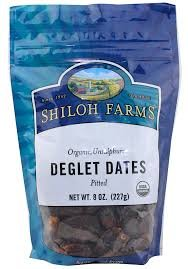 Shiloh Farms: Organic Pitted Deglet Dates 8 Oz (6 Pack)