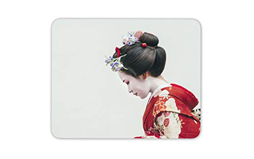 (Beautiful Japanese Geisha Mouse Mat Pad - Traditional Art Computer Gift #14575)