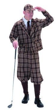 1930's Style Golfer Fancy Dress Costume by (1930 Fancy Dress Costumes)