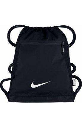 Nike Alpha Adapt Sack Pack (Black/Black/White, One - Black Alpha