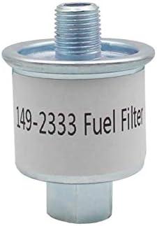 RV Generator Fuel Filter replace for Cummins Onan 149-2333 Fit for Emerald Plus 6500, 6300, 5000, 4000/BGE Spec J/BGD Spec A-B/KVC/NHD/NHE/Fit for Emerald BGE And NHE Model RV Generators.
