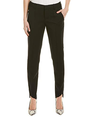 Zadig & Voltaire Womens Agrafes Wool Pant, 38, Black for sale  Delivered anywhere in USA