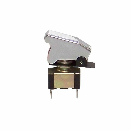 Keep It Clean 234895 Chrome Race Toggle Switch with Safety Cover
