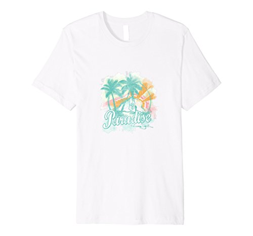 (Panama Jack Summer Love Paradise Tee, Custom Design )