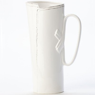 Lastra Tavern 96oz. Pitcher Color: White by VIETRI
