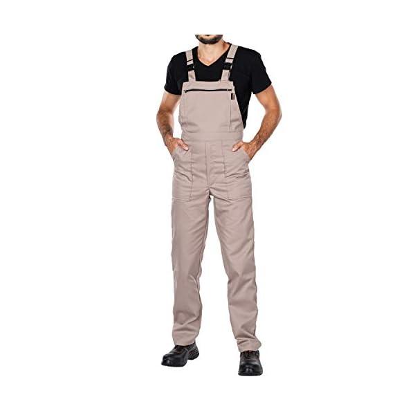Salopettes de travail pour homes grandes tailles jusqu'à 3XL – made in EU – Homme Pantalon.Un produit avec un rapport…