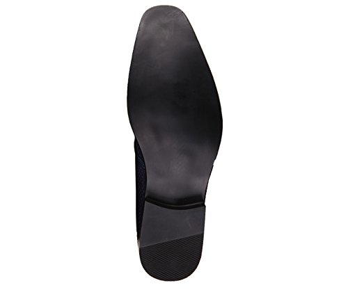 Smoking Dress Style Slip On Shoe Amali Slipper Star Smooth Covered Nightclub Loafer Mini Navy Mens Murray PxxO8wXg
