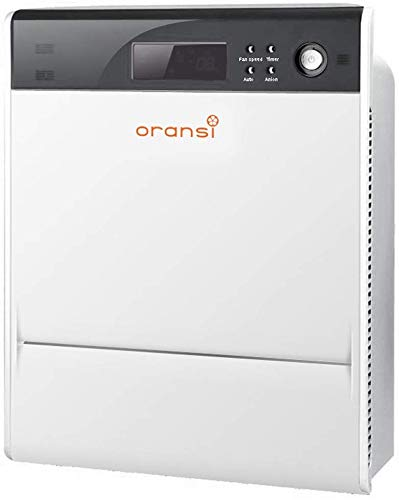 Oransi Max HEPA Large Room Air Purifier with finn hepa uv air Purifier for Asthma Mold, Dust,Allergies, Pets,Odors…