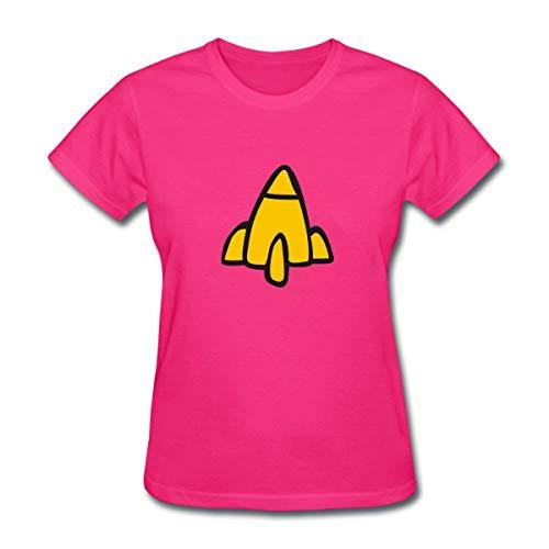 Spreadshirt Rocket Regina Funny Costume Women's T-Shirt, XL (Size 16-18), Fuchsia