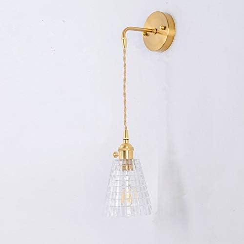 Xyamzhnn Modernes minimalistisches Restaurant Bar Single-Head Flechtlitzen Kupfer-Lampe Kronleuchter, Energiequelle: White Light 5W (Color : H) F