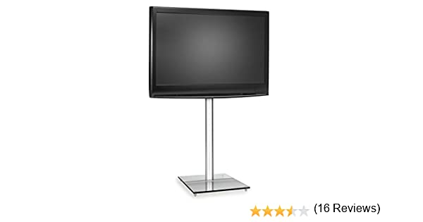 Auna Soporte de televisión con Base de Cristal (para TV LCD de 15 a 21 Pulgadas, 99 cm de Altura, Permite Ocultar Cables, Estructura de Aluminio, 8 kg de Peso): Amazon.es: Electrónica