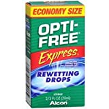 opti free express - OPTI-FREE EXPRESS Rewetting Drops 20 mL (Pack of 2)