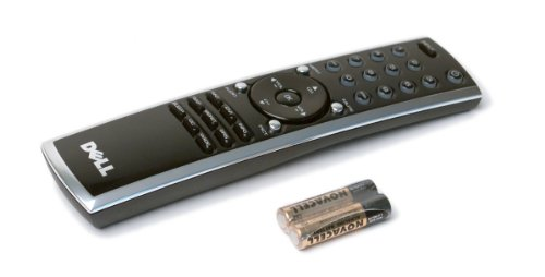 Genuine Dell LCD Plasma HDTV TV Remote Control With Batteries Included, For Dell W3201C, W3706MC, W3706MH, W3707C, W4201C, and W5001C, Compatible Dell Part Numbers: 74400, 54-74400 A, CT0545, 66622