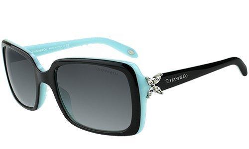 TIFFANY & CO. Victoria TF 4047B - 80553C Rectangular Sunglasses Black, Blue - Tiffany And Co