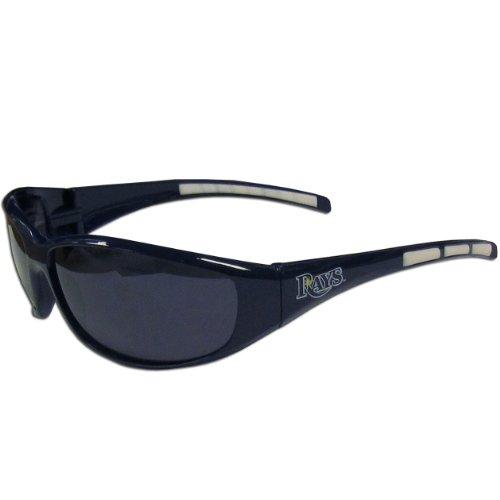 (Siskiyou MLB Tampa Bay Rays Wrap Sunglasses )
