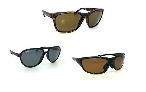 Verres de Korda Wraps Brillant soleil Monture Bruns 4ème Noir Lunettes Eyewear Dimension polarisées XqPrgX