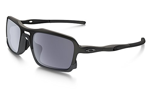 Oakley Men's (a) Triggerman OO9314-01 Rectangular Sunglasses, Matte Black, 58.5 - Sunglasses Kids Oakley