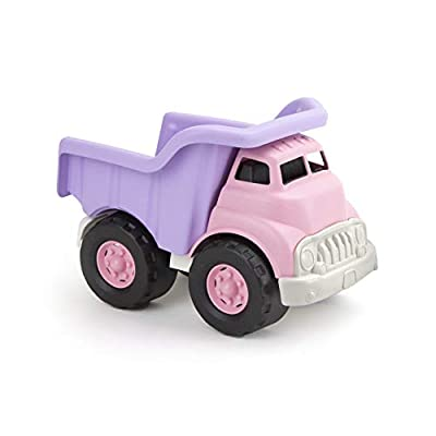 Green Toys Dump Truck - Frustration Free Packaging, Pink/Purple: Toys & Games