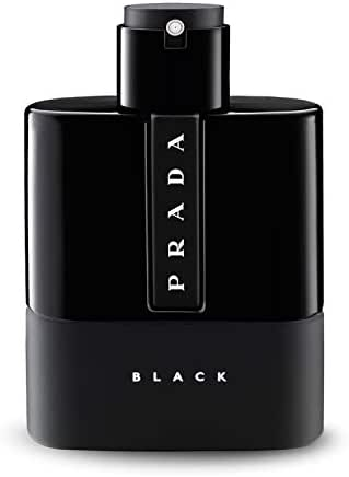Prada Luna Rossa Black for Men Eau de Parfum Spray, 3.4 Ounce