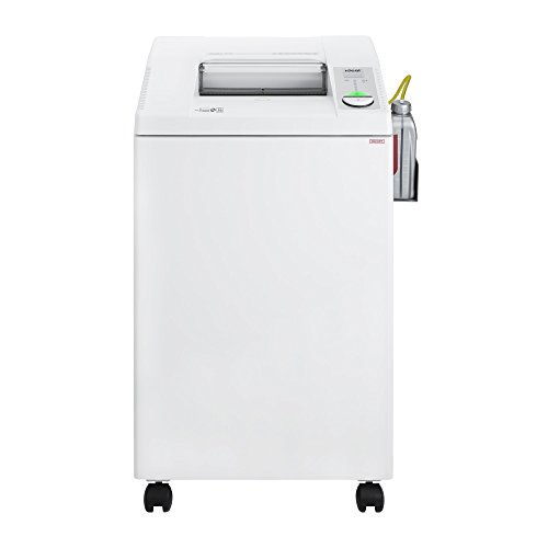 ideal. 2604 Continuous Operation Cross-Cut Centralized Office Paper, Staple, Paper Clip, Credit Card, CD, DVD Shredder with Automatic Oiler, 14 to 16 Sheet Feed Capacity, 26 gal Bin by ideal.
