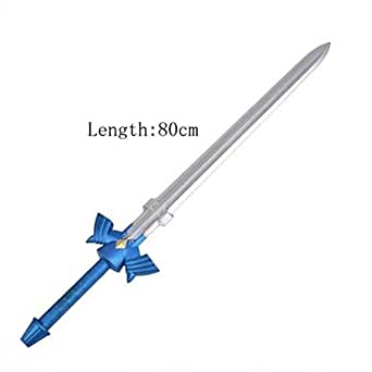 1:1 Sword Legend of Zelda Link Blue Black Cosplay PU Sword Art Online SAO The Hobbit Frodo Baggins Sting Sword
