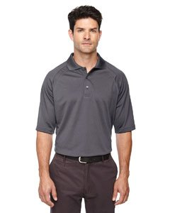 Extreme Mens Eperformance Ottoman Textured Polo (85093) -BLKSILK 866 -XL