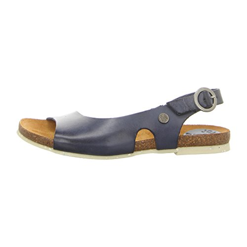 Jonny's 2199-17 Nude - Sandalias de vestir de Piel Lisa para mujer azul marino