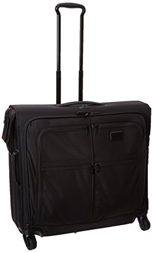 Tumi Alpha 2 4 Wheeled Extended Trip Garment Bag, Black, One Size - Tumi Alpha 2 Garment Bag Carry On