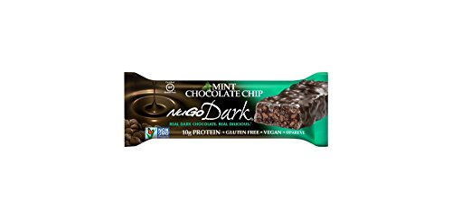 Nugo Dark Mint Chocolate Chip Gluten Free Granola Bars 1.76ozx5 bars, total 8.8oz