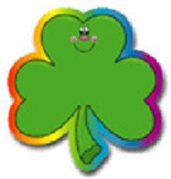 Colorful Cut-outs Shamrocks 36/pk by Frank Schaffer Publications/Carson Dellosa Publications