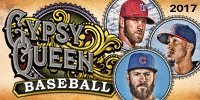 2017 Topps Gypsy Queen Baseball Cards Hobby Box (24 Packs of 8 Cards, 2 Autographs, GQ Glassworks Box Topper)
