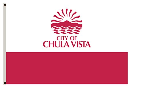 Fyon California banner City of Chula Vista Flag - 10 Chula Vista