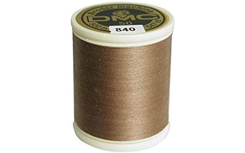 - DMC 237A-50840 Cotton Embroidery Thread 50WT 547Yds Medium Beige Brown