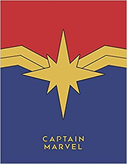 CAPTAIN MARVEL HARD COVER NOTEBOOK A5 Size