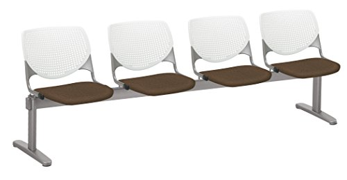 KOOL 4 Seat Beam Seating, Fudge ()