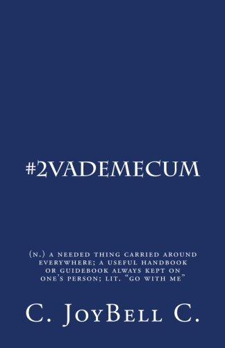 """#2VadeMecum: (n.) a needed thing carried around everywhere; a useful handbook or guidebook always kept on one's person; lit. """"go with me"""" (Volume 2) pdf"""