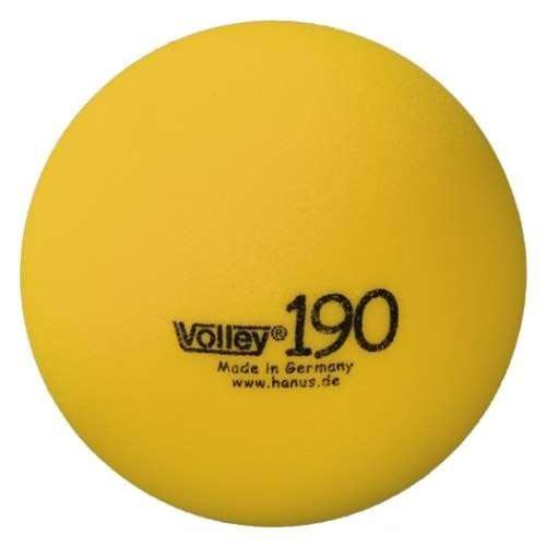 VOLLEY Schaumstoffball unbeschichtet, ø 19 cm, gelb