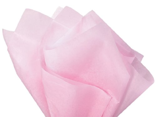Light Pink Wrap Tissue Paper 20 Inch X 30 Inch - 48 Sheets