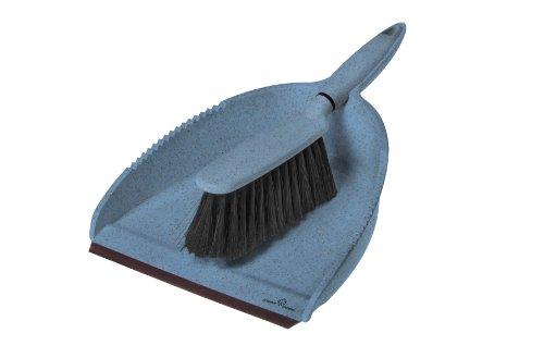 Greener Cleaner Dustpan & Brush Blue