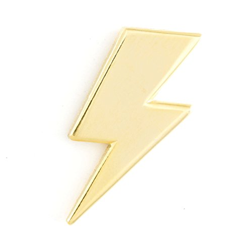These Are Things Lightning Bolt Enamel Pin