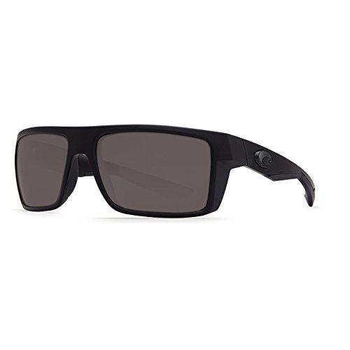 Costa Del Mar Motu Sunglasses, Blackout, Gray 580 Plastic - Mar Motu Costa Del
