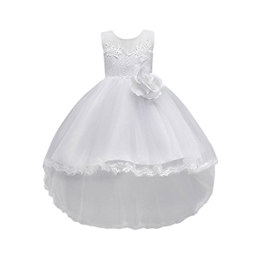 SMALLE◕‿◕ Clearance,Floral Baby Girl Princess Bridesmaid Pageant Gown Birthday Party Wedding Dress by SMALLE◕‿◕